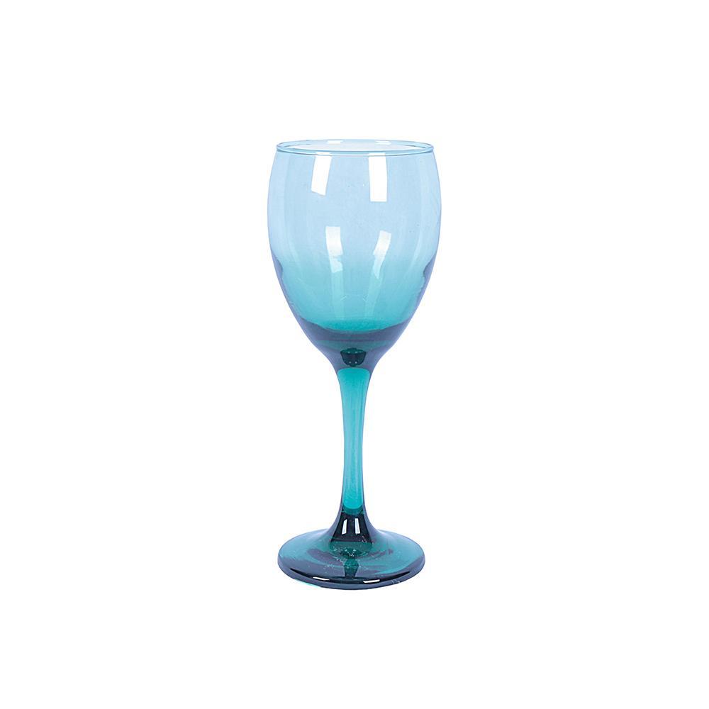 Copa elegante azul
